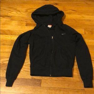 Black Nike Zip up Hoodie size small